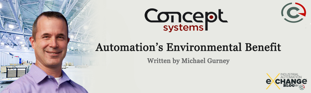 Automation's Environmental Benefit