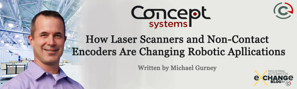 How Laser Scanners and Non-Contact Encoders Are Changing Robotic Applications
