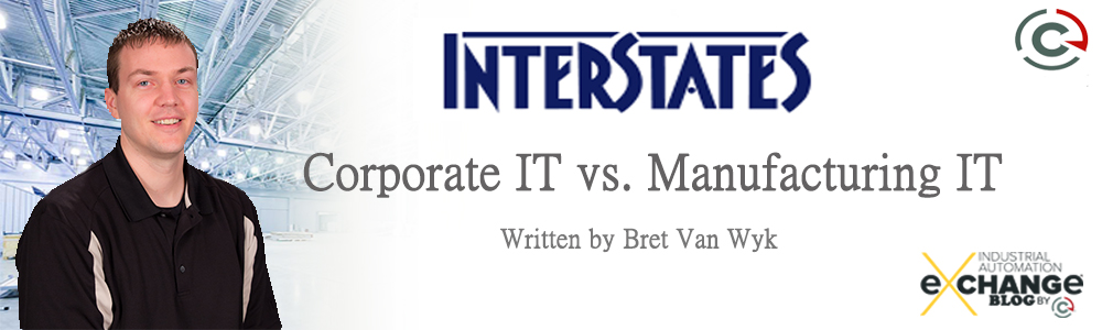 Corporate IT vs. Manufacturing IT