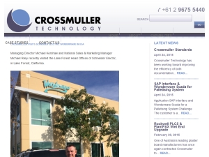 Crossmuller Visits Schneider Wonderware in USA
