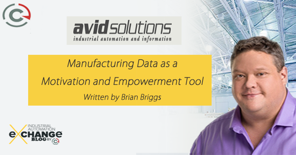 Manufacturing Data as a Motivation and Empowerment Tool