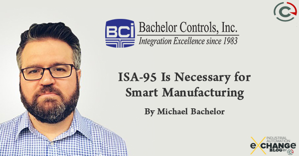 ISA-95 Is Necessary for Smart Manufacturing