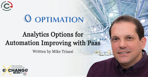 Analytics Options for Automation Improving With PaaS