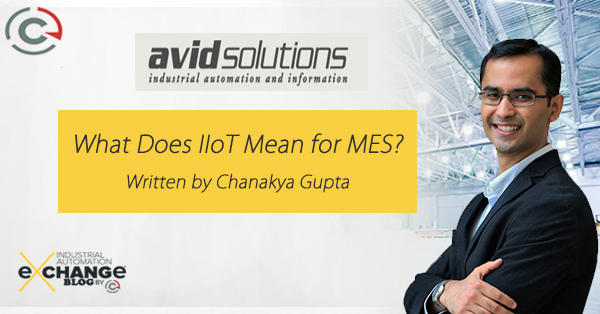 What Does IIoT Mean for MES?