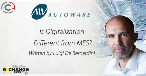 Is Digitalization Different From MES?