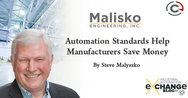Automation Standards Help Manufacturers Save Money