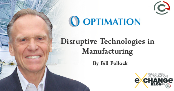Disruptive Technologies in Manufacturing