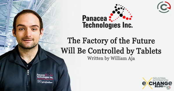 The Factory of the Future Will Be Controlled by Tablets