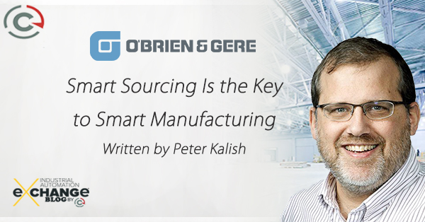 Smarter Sourcing Is the Key to Smart Manufacturing