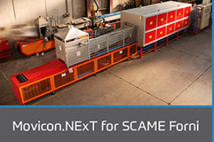 Movicon.NExT for SCAME Furnaces