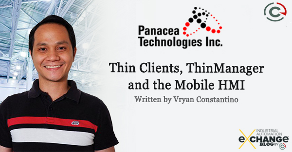 Thin Clients, ThinManager and the Mobile HMI