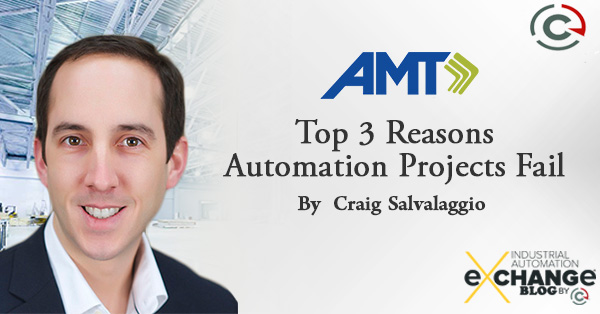 Top 3 Reasons Automation Projects Fail