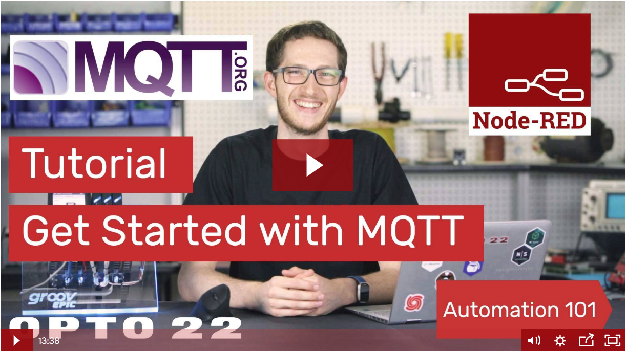 Getting Started with MQTT video
