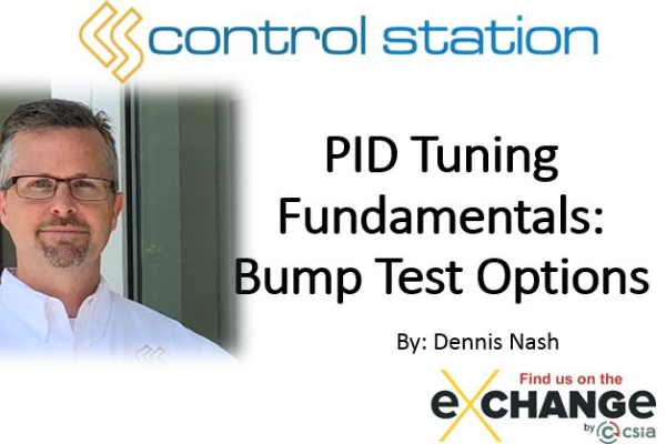 PID Tuning Fundamentals: Bump Test Options